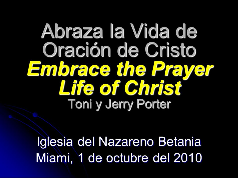 Iglesia del Nazareno Betania