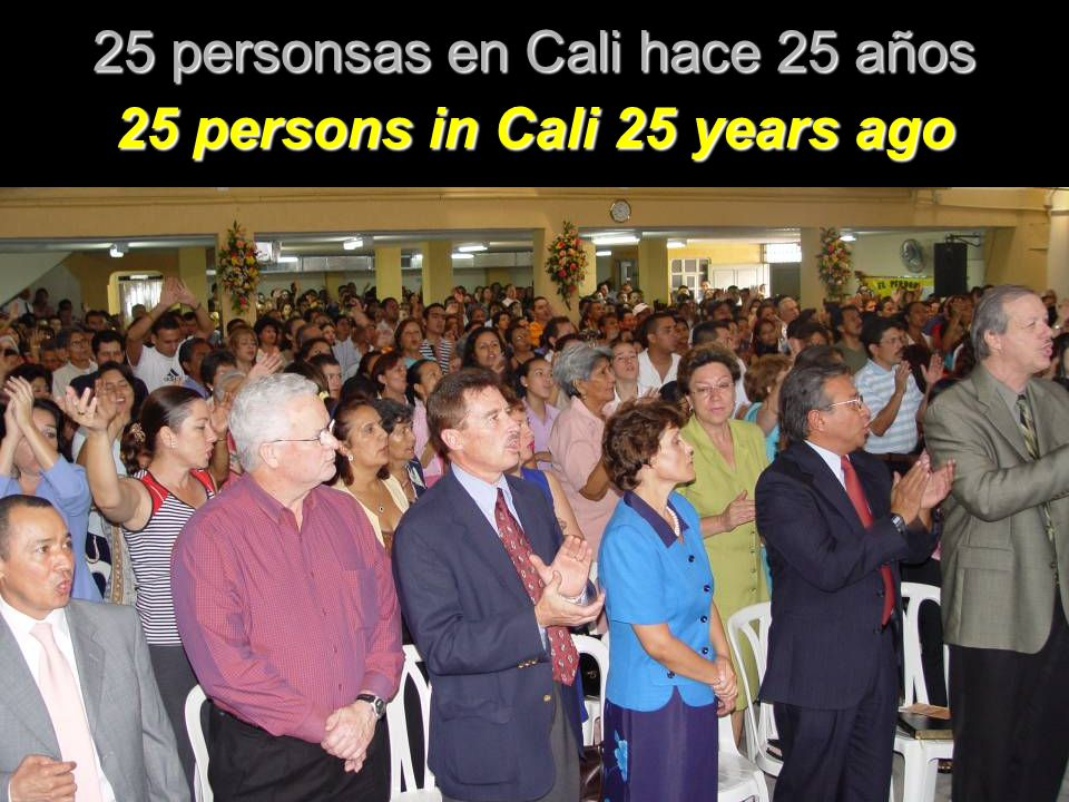 25 personsas en Cali hace 25 años 25 persons in Cali 25 years ago
