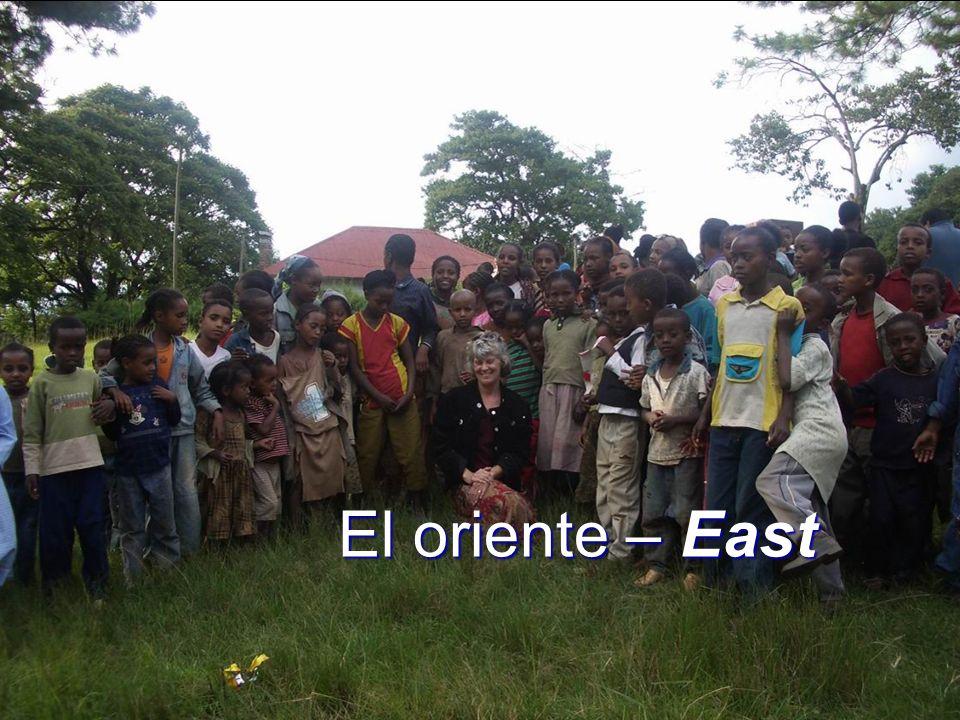El oriente – East