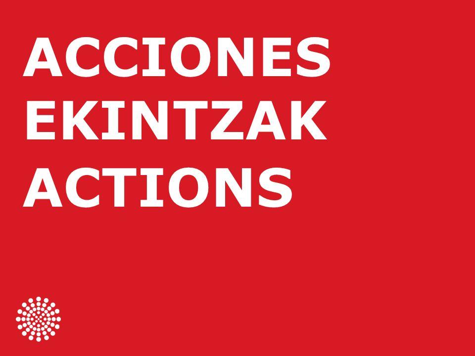 ACCIONES EKINTZAK ACTIONS