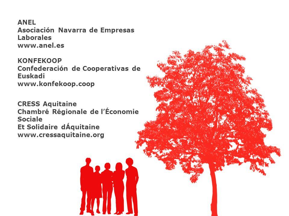 ANEL Asociación Navarra de Empresas Laborales. www.anel.es. KONFEKOOP. Confederación de Cooperativas de Euskadi.