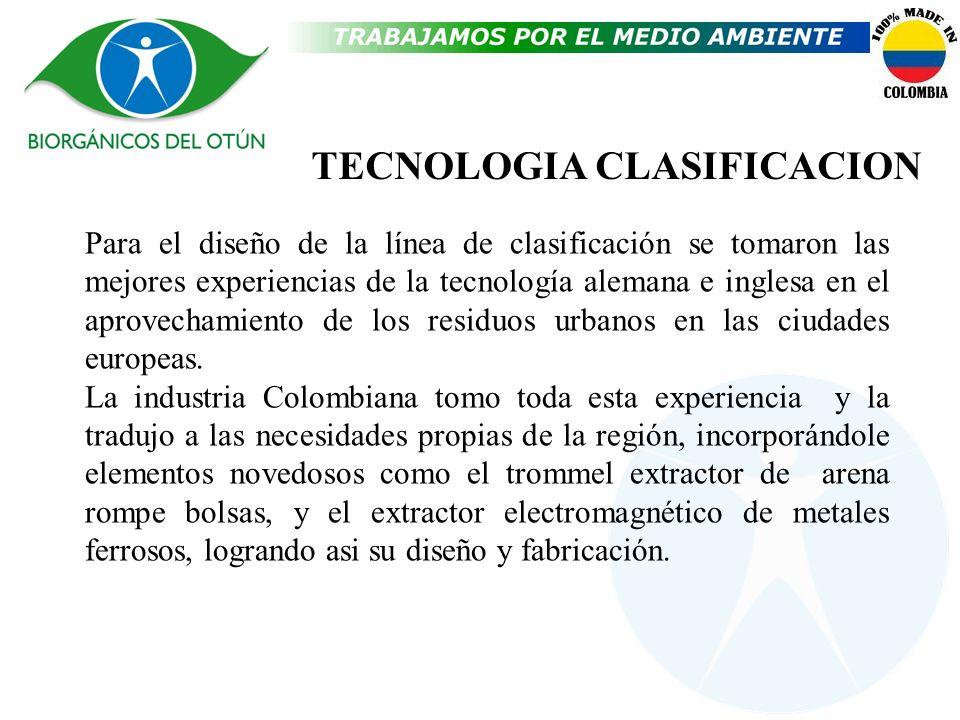 TECNOLOGIA CLASIFICACION