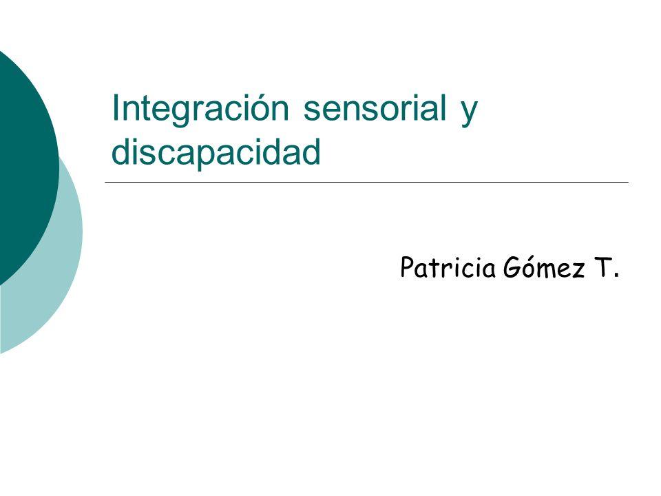 Integración sensorial y discapacidad
