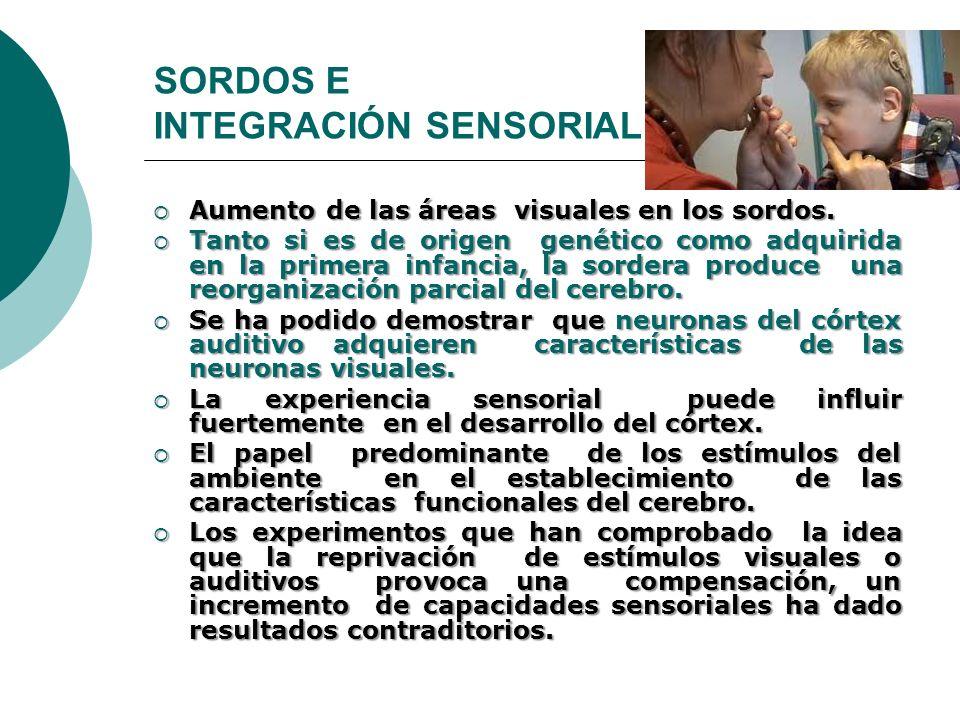 SORDOS E INTEGRACIÓN SENSORIAL