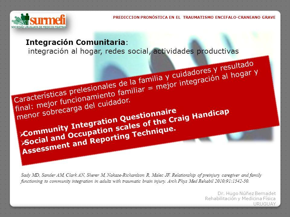 Integración Comunitaria:
