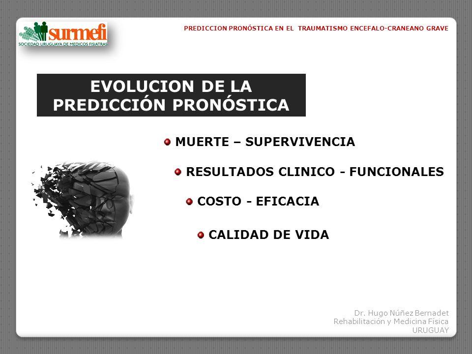 EVOLUCION DE LA PREDICCIÓN PRONÓSTICA