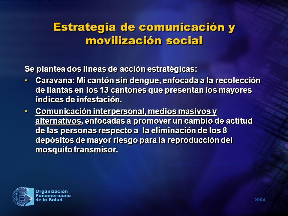 Estrategia de comunicación y movilización social