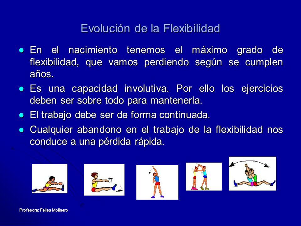 Evolución de la Flexibilidad