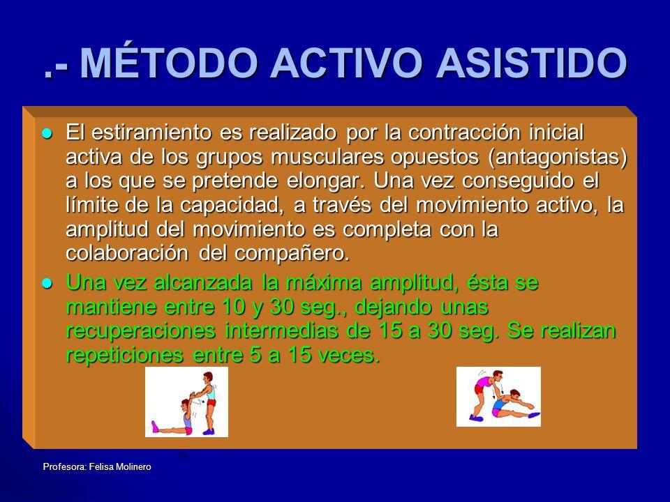 .- MÉTODO ACTIVO ASISTIDO
