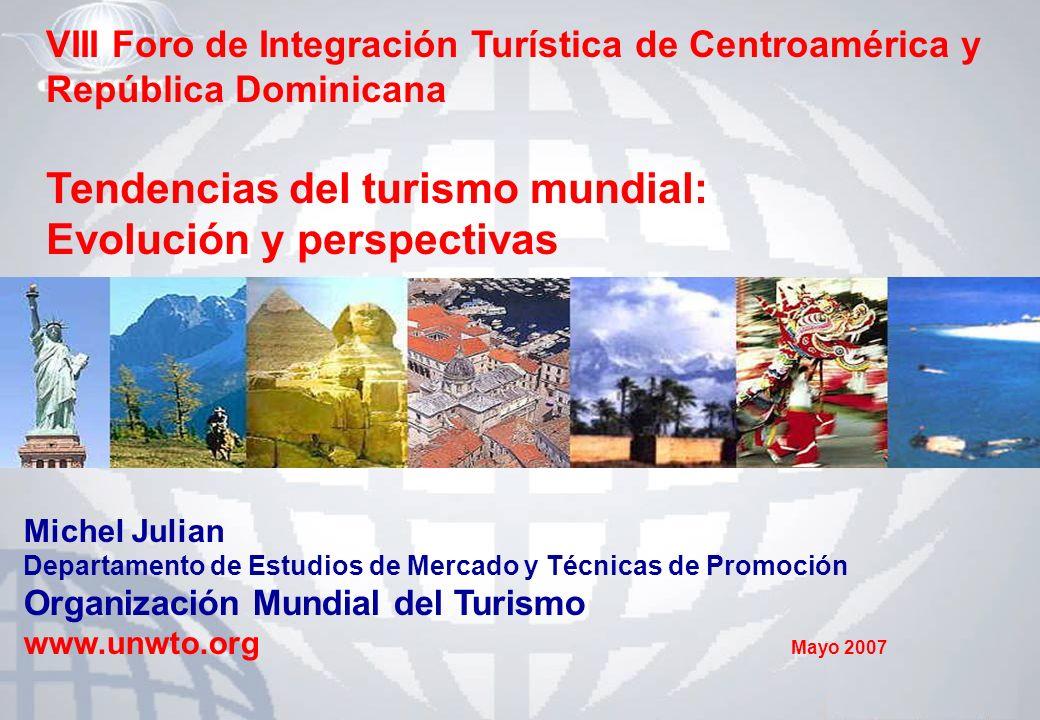 Tendencias del turismo mundial: Evolución y perspectivas
