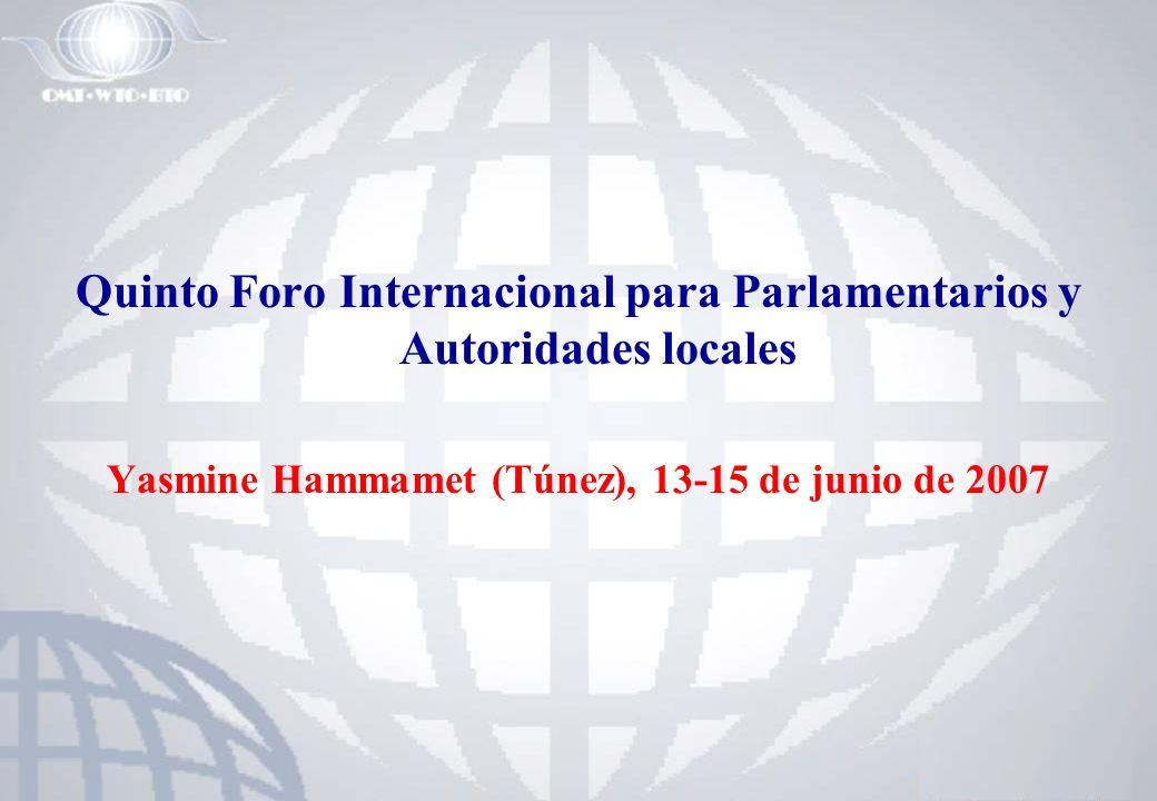 Quinto Foro Internacional para Parlamentarios y Autoridades locales