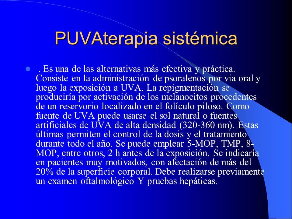 PUVAterapia sistémica
