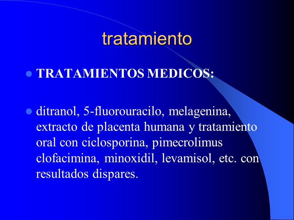 tratamiento TRATAMIENTOS MEDICOS:
