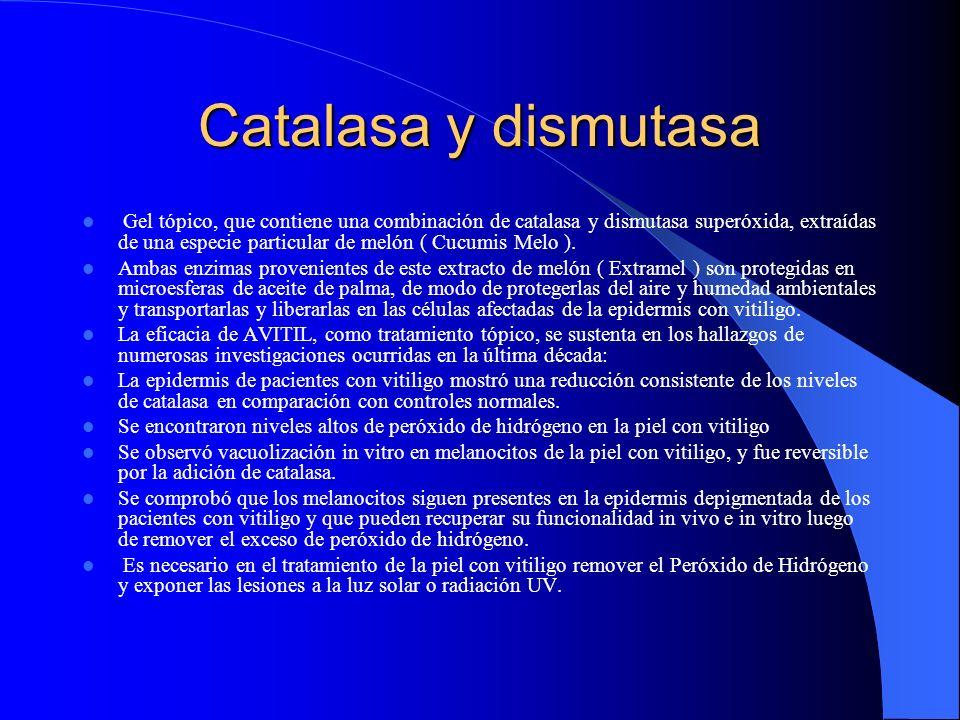 Catalasa y dismutasa