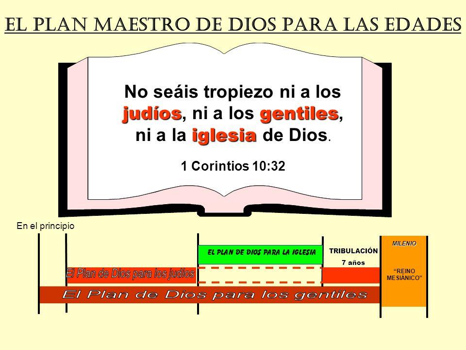 EL PLAN MAESTRO DE DIOS PARA LAs EDADES