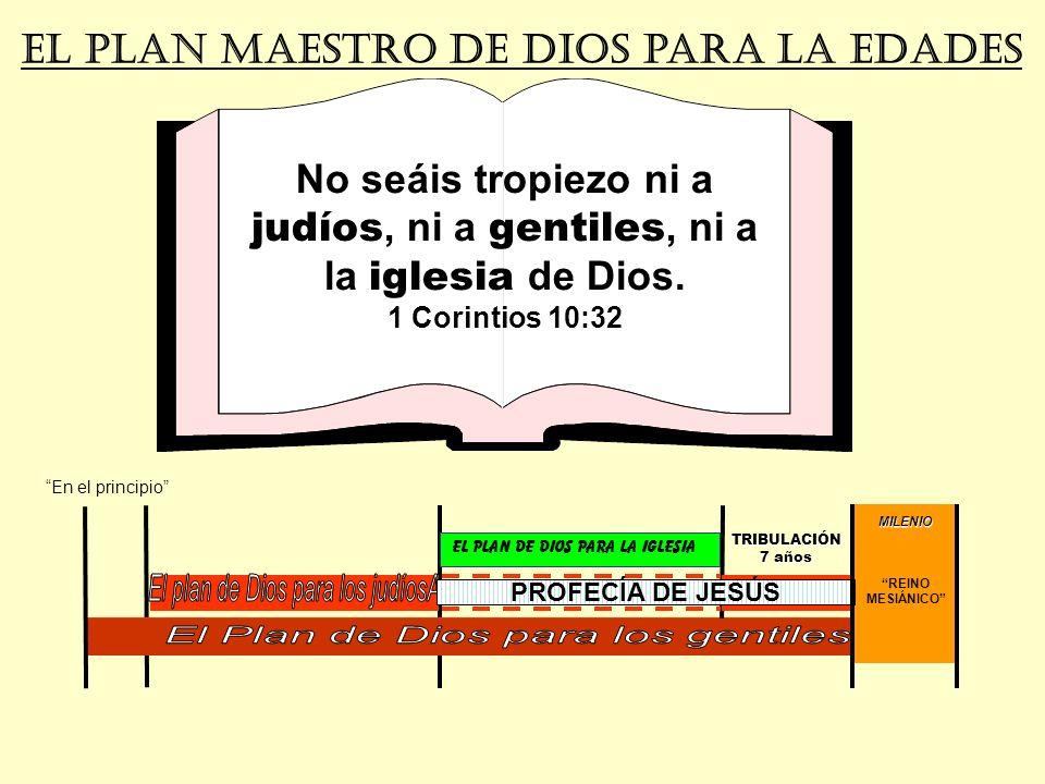 El plan de Dios para los judíosA El Plan de Dios para los gentiles
