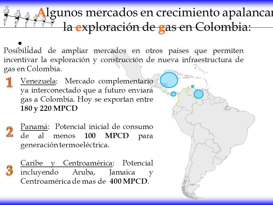 Algunos mercados en crecimiento apalancan la exploración de gas en Colombia: