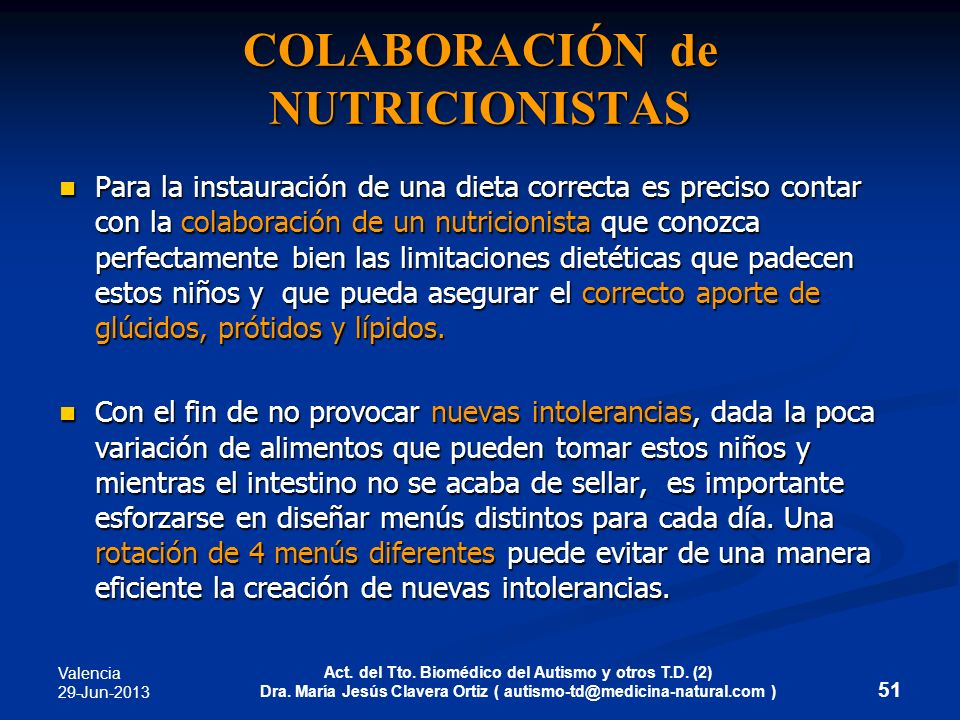COLABORACIÓN de NUTRICIONISTAS