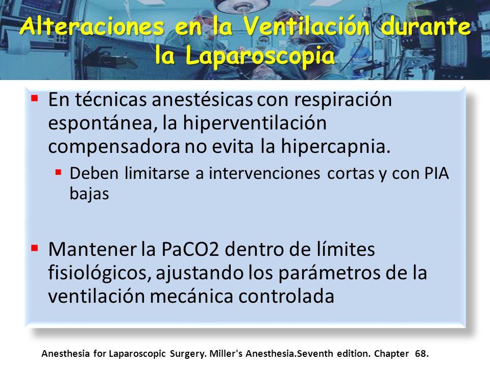 Anestesia para cirug a laparosc pica ppt descargar - Ventilacion mecanica controlada ...