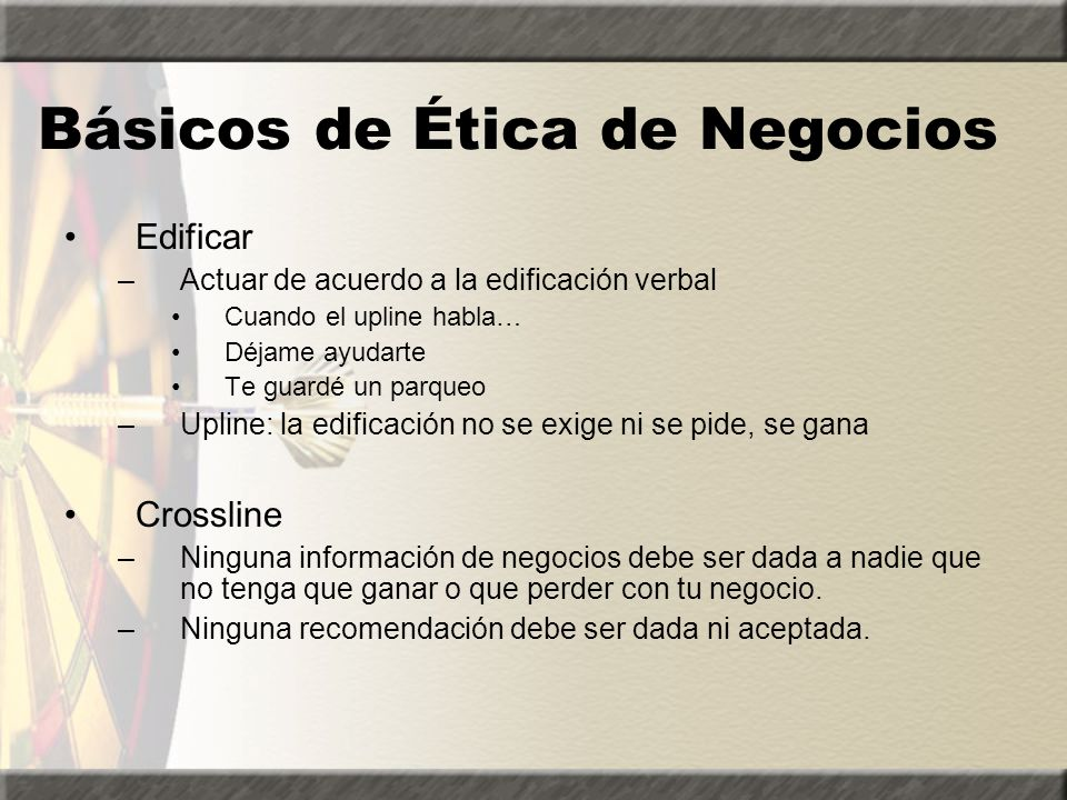 Básicos de Ética de Negocios