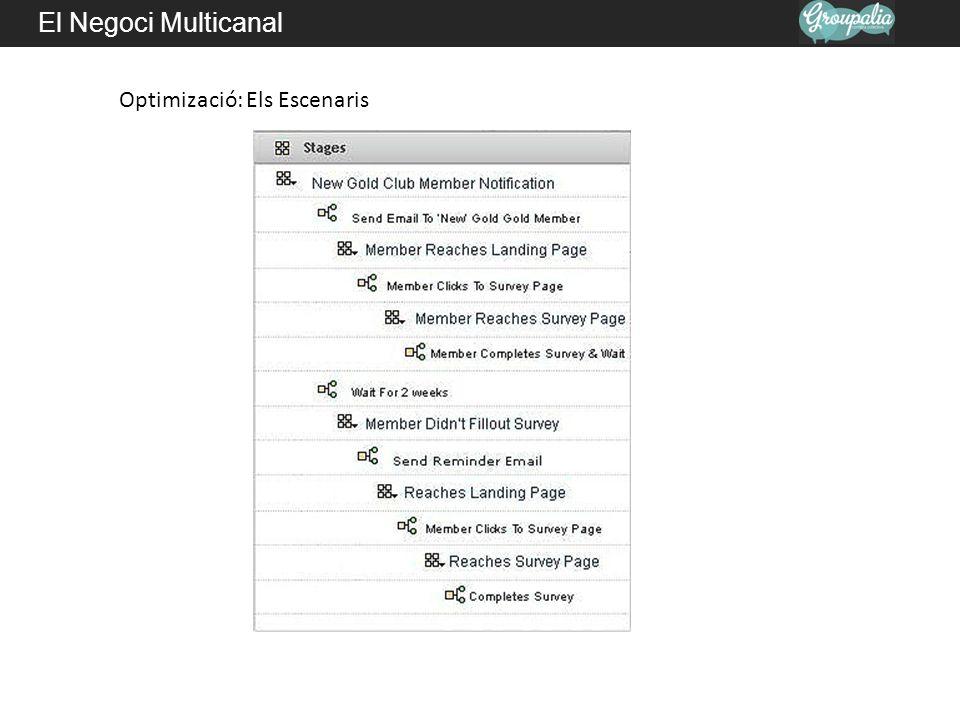 El Negoci Multicanal Optimizació: Els Escenaris