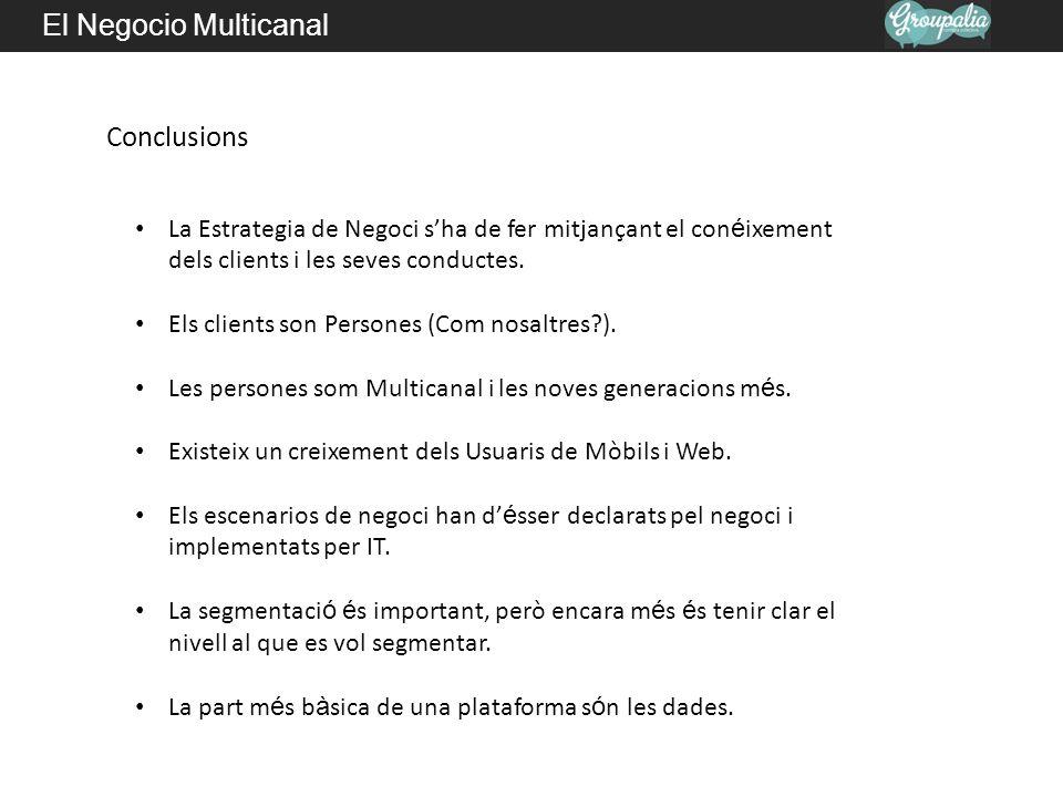 El Negocio Multicanal Conclusions