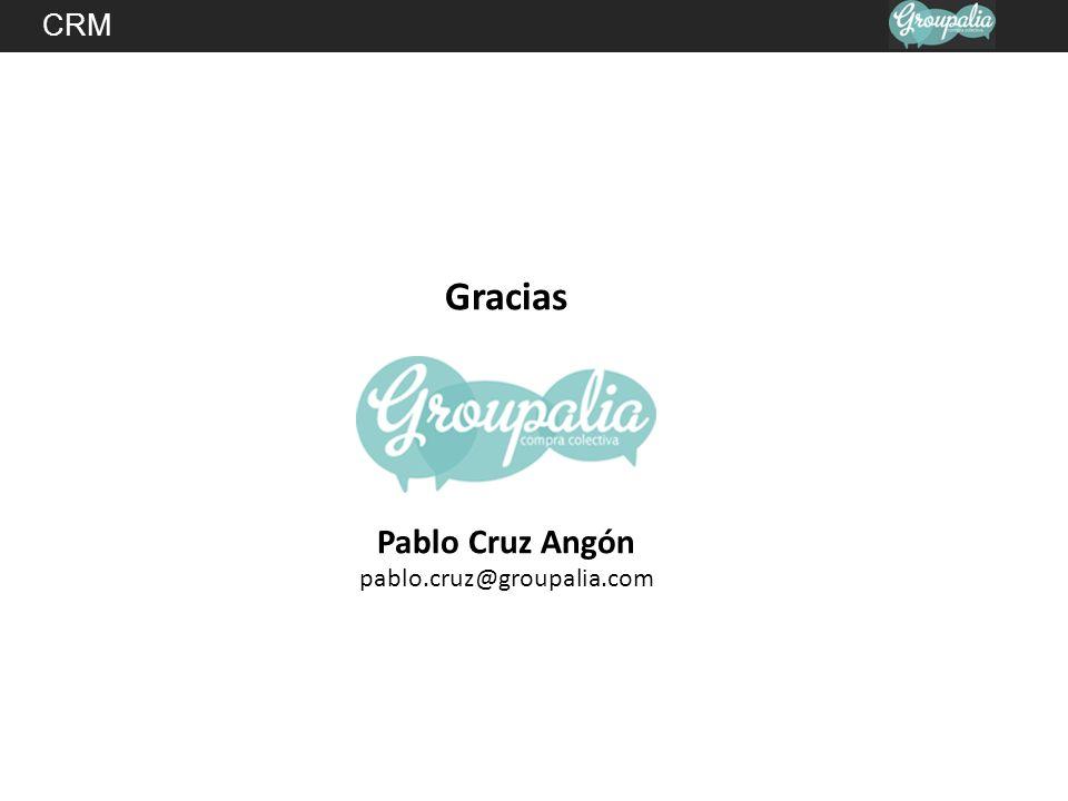 CRM Gracias Pablo Cruz Angón pablo.cruz@groupalia.com
