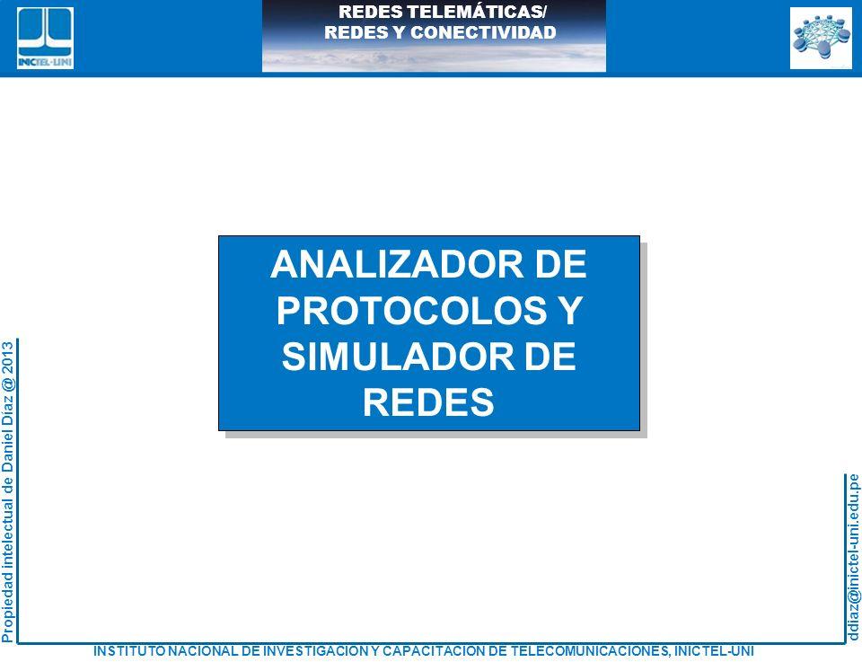 ANALIZADOR DE PROTOCOLOS Y SIMULADOR DE REDES