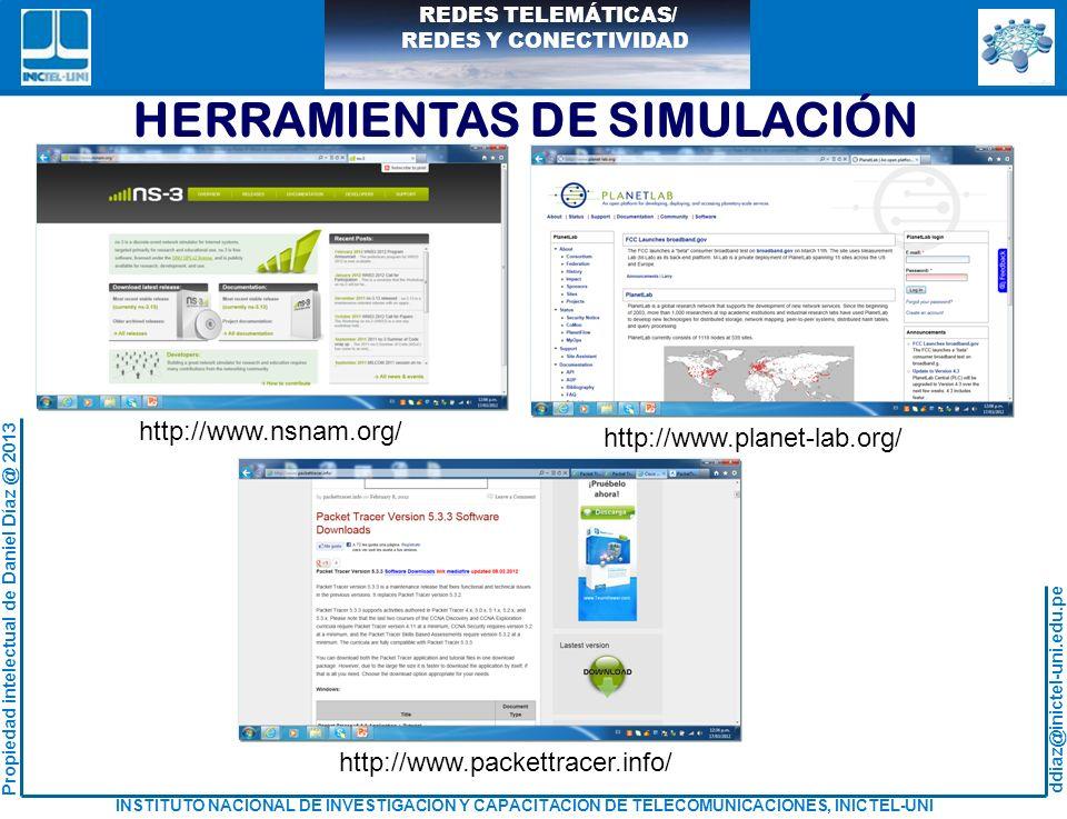 HERRAMIENTAS DE SIMULACIÓN