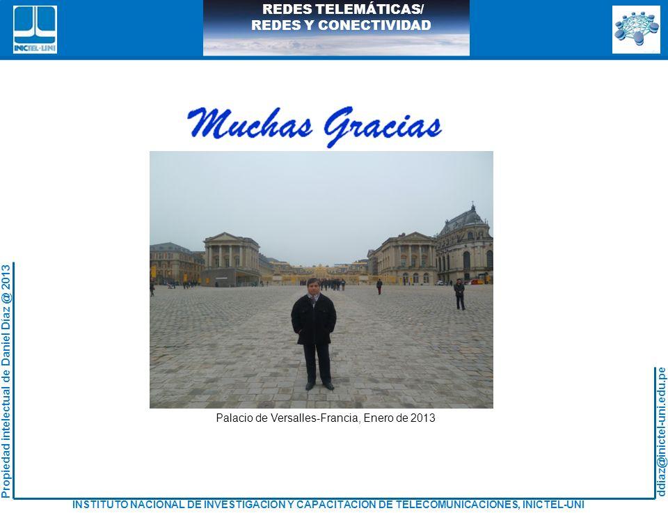 Palacio de Versalles-Francia, Enero de 2013