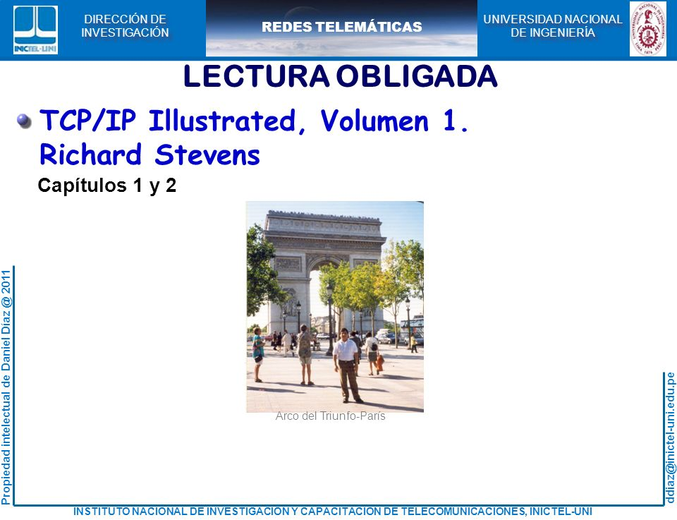 LECTURA OBLIGADA TCP/IP Illustrated, Volumen 1. Richard Stevens