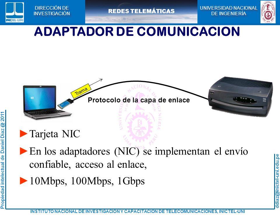 ADAPTADOR DE COMUNICACION