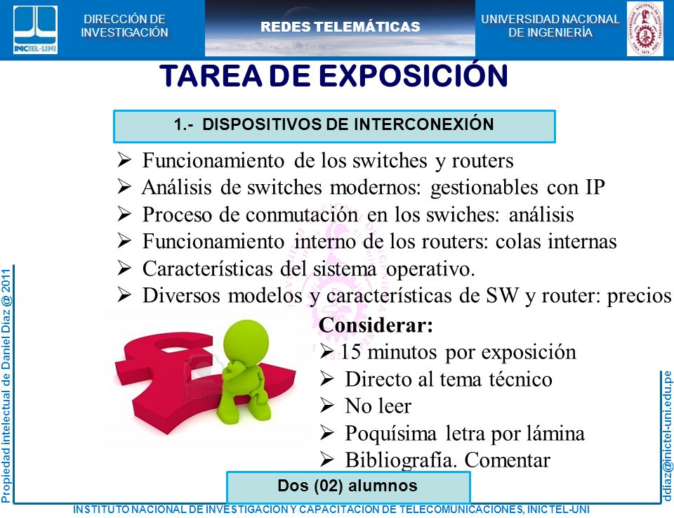 1.- DISPOSITIVOS DE INTERCONEXIÓN