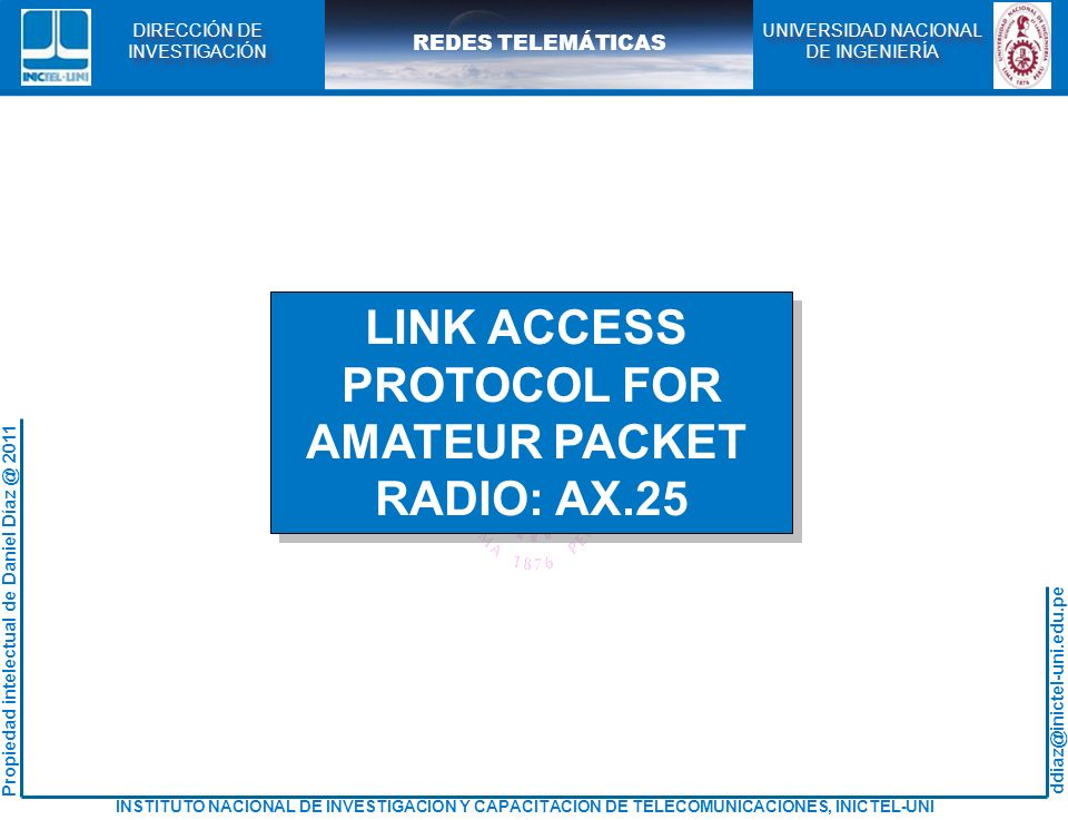 LINK ACCESS PROTOCOL FOR AMATEUR PACKET RADIO: AX.25