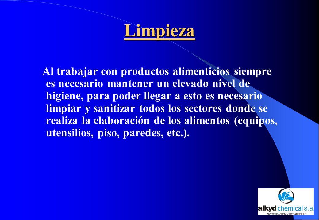 La limpieza y desinfecci n en la industria cervecera ppt for Manual de limpieza y desinfeccion en industria alimentaria