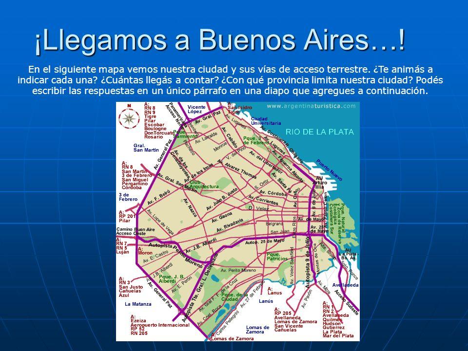 ¡Llegamos a Buenos Aires…!
