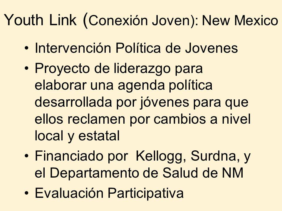 Youth Link (Conexión Joven): New Mexico