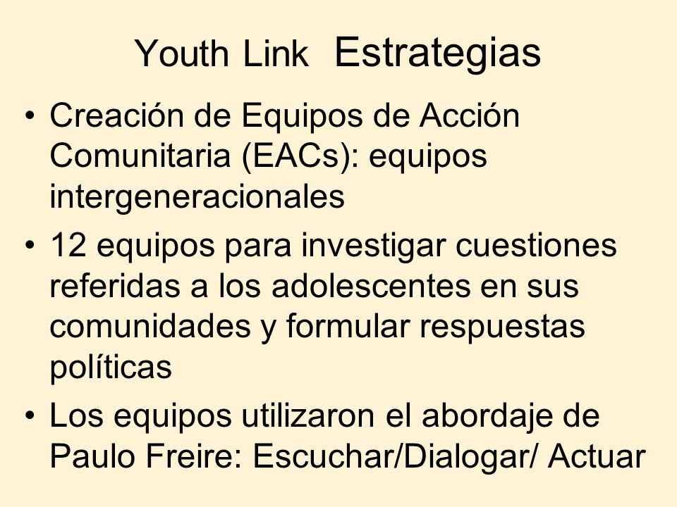 Youth Link Estrategias