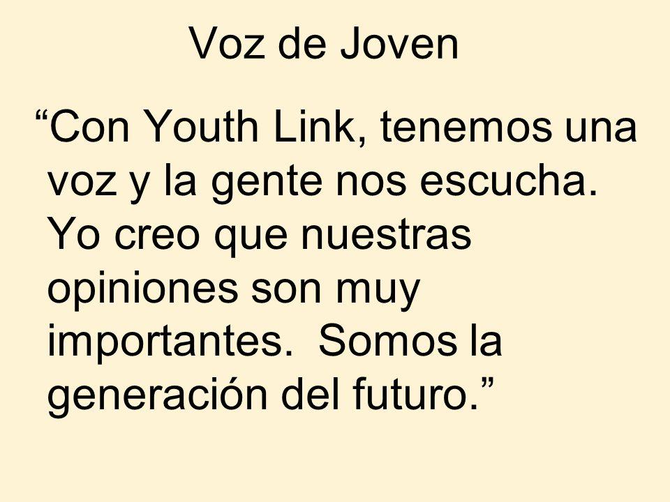 Voz de Joven