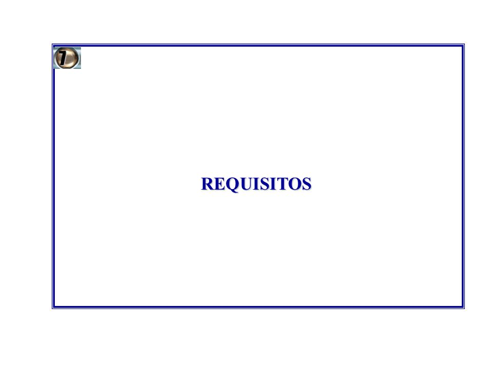 7 REQUISITOS 37