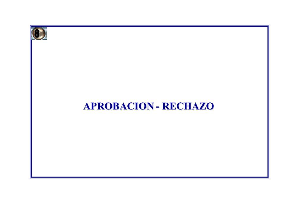 8 APROBACION - RECHAZO 46