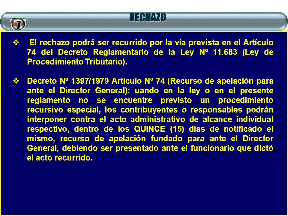 RECHAZO 7.