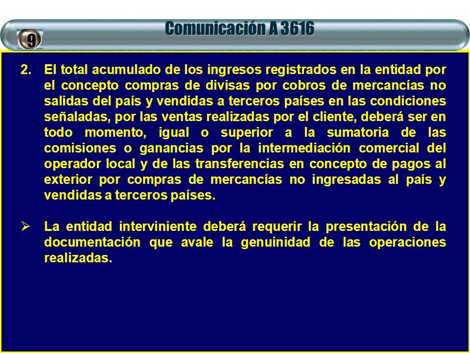 Comunicación A 3616 9.