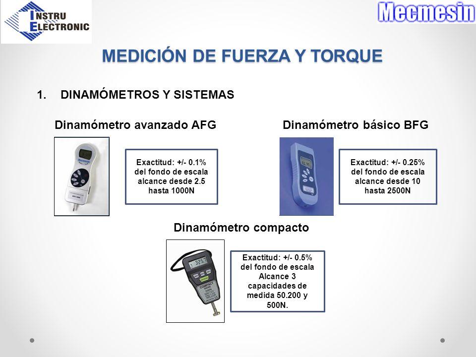 MEDICIÓN DE FUERZA Y TORQUE