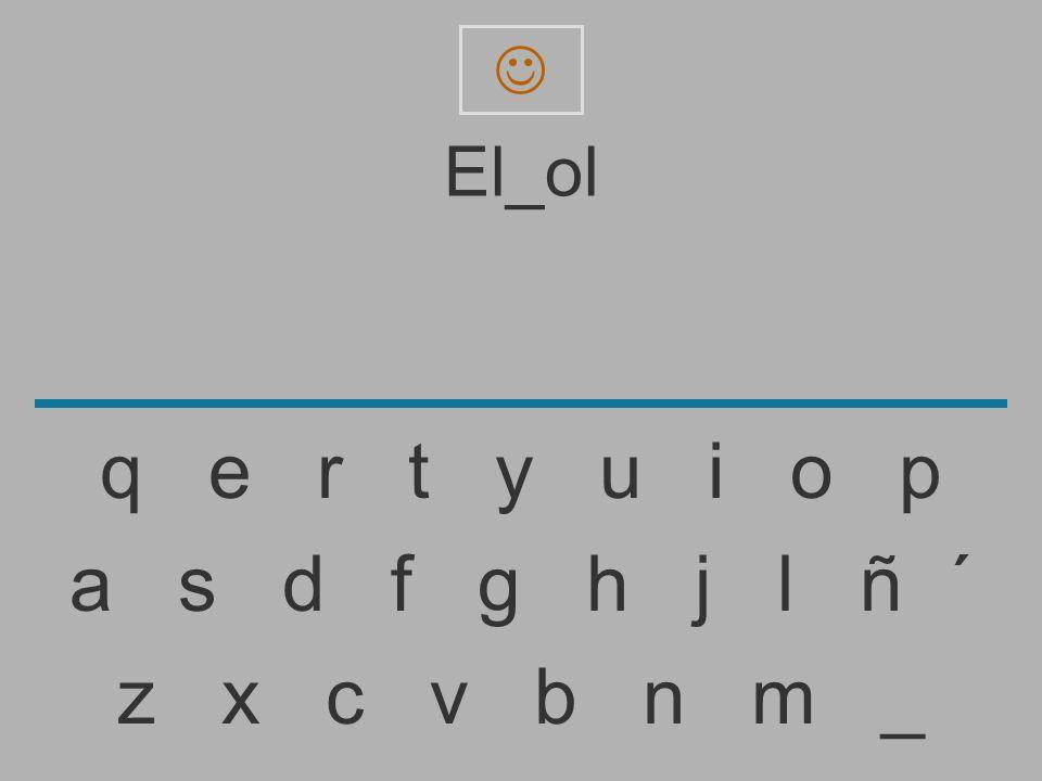  El_ol. q e r t y u i o p.