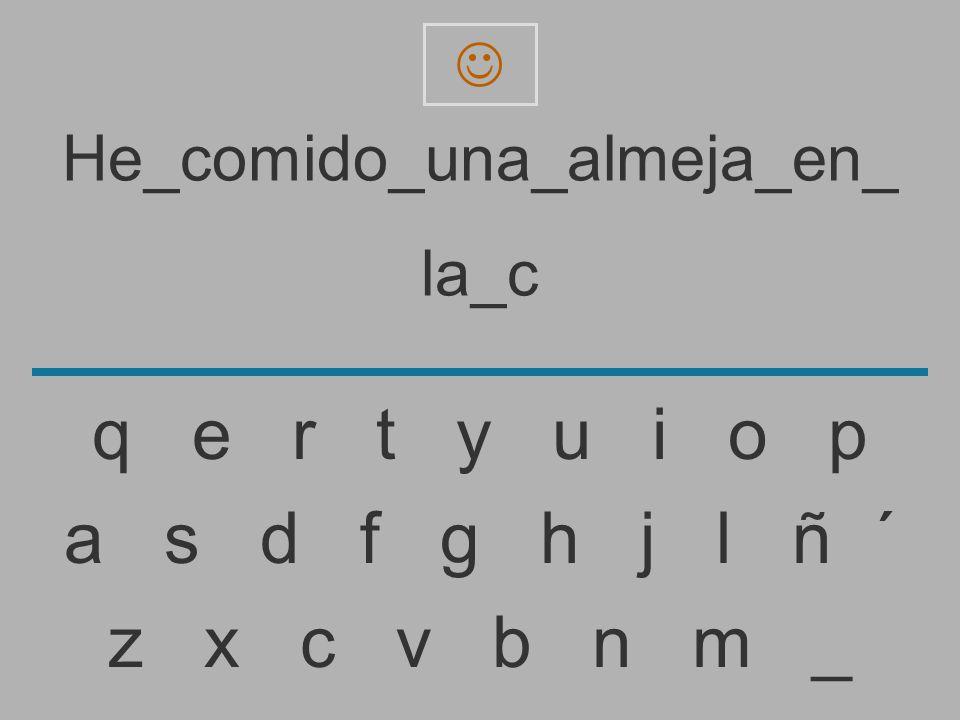 He_comido_una_almeja_en_