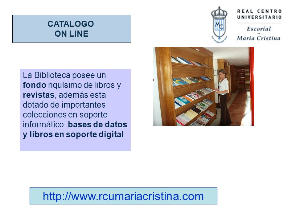 CATALOGO ON LINE