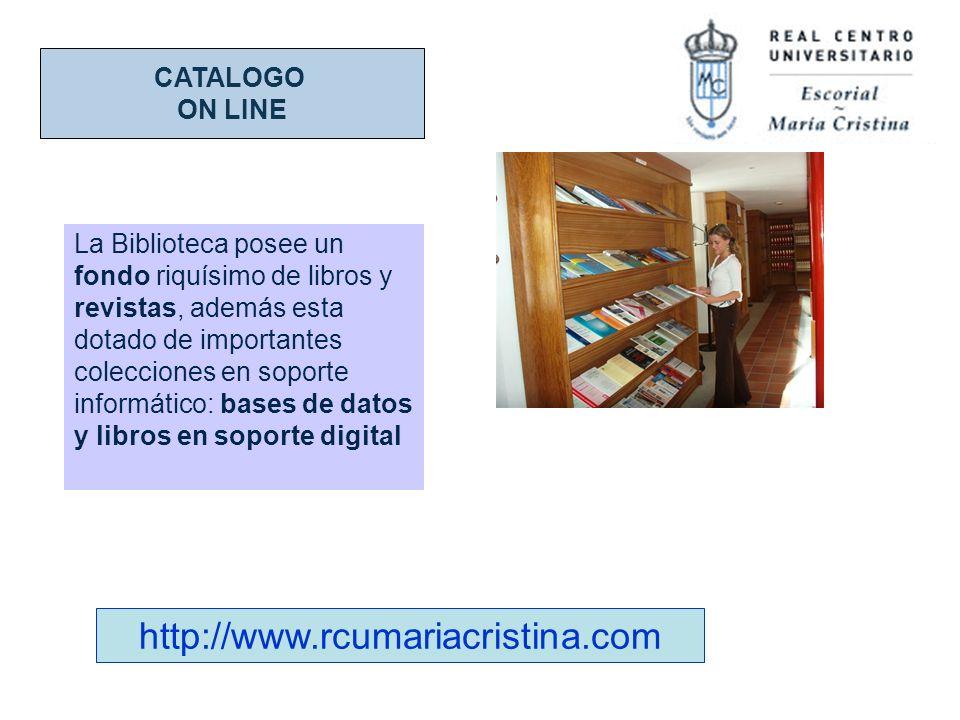 http://www.rcumariacristina.com CATALOGO ON LINE