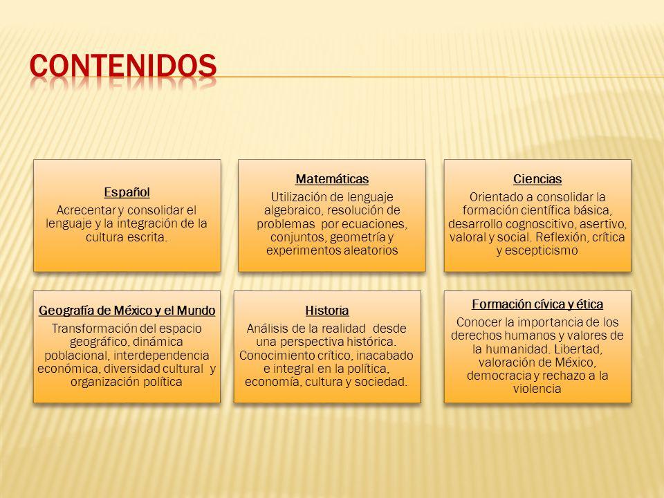 Geografía de México y el Mundo Formación cívica y ética