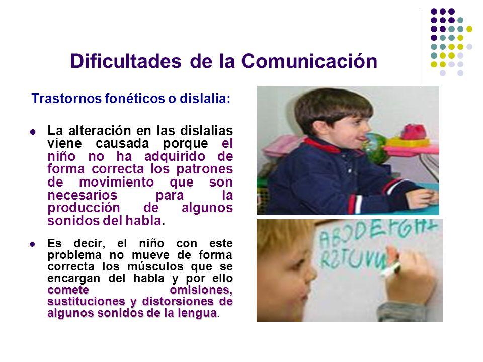 Dificultades de la Comunicación